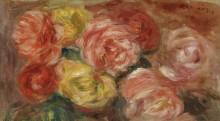Натюрморт с розами, 1918 - Ренуар, Пьер Огюст