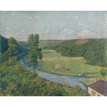 Долина Самбра (The Valley of the Sambre), 1890 - Рейссельберге, Тео ван