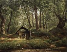 Солнечный день. Мерикюль, 1894 - Шишкин, Иван Иванович