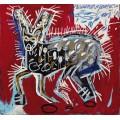 Красный кролик - Баския, Жан-Мишель