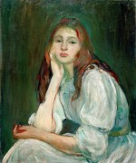 Портрет Жюли Мане - Моризо, Берта