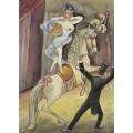Цирковая наездница - Дикс, Отто