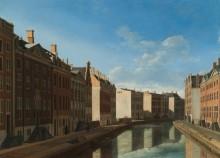Вид на канал Херенграхт со стороны улицы Вейзельстрат - Беркхейде, Геррит Адрианс