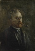 Автопортрет 2 (Self Portrait 2), 1886 - Гог, Винсент ван