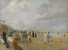 На пляже - Опплер, Эрнст