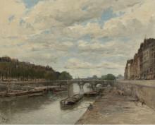Новый мост, 1896 - Боггс, Фрэнк Майерс