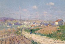 Весна в Иль-де-Франс, 1916 - Луазо, Гюстав
