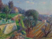 Склон холма, 1929 - Глакенс, Уильям