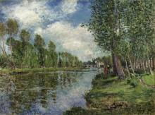 Берег реки Луэн - Сислей, Альфред