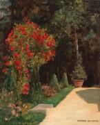 Розы в парке - Шварц, Альфред