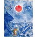 Солнце над Парижем - Шагал, Марк Захарович