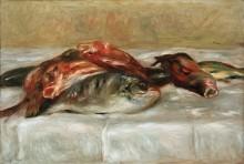 Натюрморт с рыбой - Ренуар, Пьер Огюст
