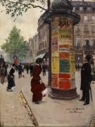 Тумба Морриса в Париже - Беро, Жан