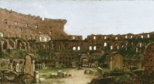 Интерьер Колизея, Рим - Коул, Томас