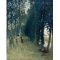 Сенокос на берегу ручья, 1932 - Монтезен, Пьер-Эжен
