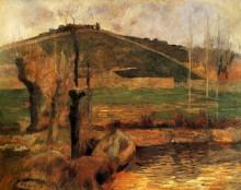 Вид с горы Сент-Маргерит, около Понт- Авена,1888 - Гоген, Поль