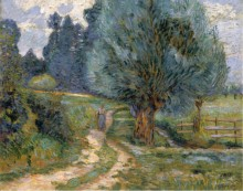 Прогулка по берегу реки Орж, 1889 - Гийомен, Арманд