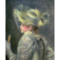 Белая шляпка - Ренуар, Пьер Огюст