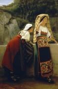 Итальянки из Абруццо - Альма-Тадема, Лоуренс