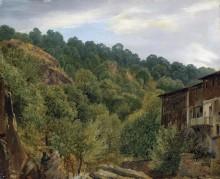 Пейзаж в Оверни - Руссо, Теодор