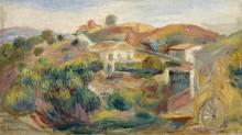 Пейзаж с домами, 1911 - Ренуар, Пьер Огюст