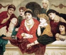 Женщины, наблюдающие за боем гладиаторов в Риме - Соломон, Симеон