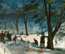 Зима в Центральном парке - Глакенс, Уильям