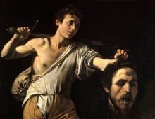 Давид с головой Голиафа - Караваджо, Микеланджело Меризи да
