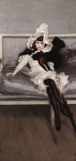 Портрет Дживинетты Эрразуриз, 1892 - Больдини, Джованни