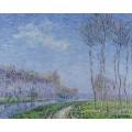 Деревья на берегу реки, 1899 - Луазо, Гюстав