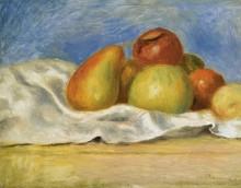 Натюрморт с яблоками и грушами, 1890 - Ренуар, Пьер Огюст