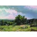 Вид в окрестностях Дюссельдорфа, 1865 - Шишкин, Иван Иванович