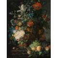 Натюрморт с цветами и фруктами - Хейсум,  Ян ван