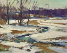 Ручей и тающий снег - Питерс, Карл Уильям