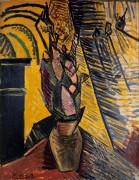 Ваза с цветами - Пикассо, Пабло
