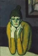 Женщина с шньоном - Пикассо, Пабло