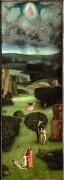 Страшный суд, деталь - Рай - Босх, Иероним (Ерун Антонисон ван Акен)