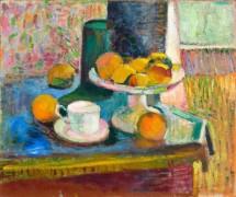 Натюрморт с апельсинами и яблоками - Матисс, Анри