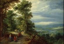 Опушка леса (Бегство в Египет) - Брейгель, Ян (Старший)