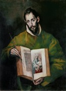 Святой Лука Евангелист - Греко, Эль