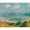 Женщина на берегу моря - Ренуар, Пьер Огюст