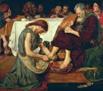 Омовение ног святого Петра - Браун, Форд Мэдокс