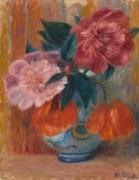 Ваза с тюльпанами и пионами - Глакенс, Уильям