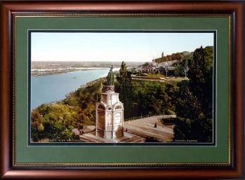 Памятник князю Влидимиру. Фотография 19 века.