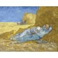 Отдых после работы (по мотивам Милле) (Resting after Work (after Millet), 1889 - Гог, Винсент ван