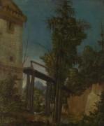 Пейзаж с мостом - Альтдорфер, Альбрехт