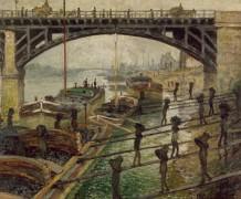 Докеры, 1875 - Моне, Клод