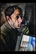 Анненков Юрий. Автопортрет - Анненков, Юрий Павлович