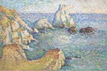 Камни - (The Rocks), 1909 - Шлобах, Вилли