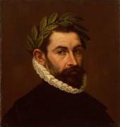 Портрет поэта Алонсо де Эрсилья-и-Суньига - Греко, Эль